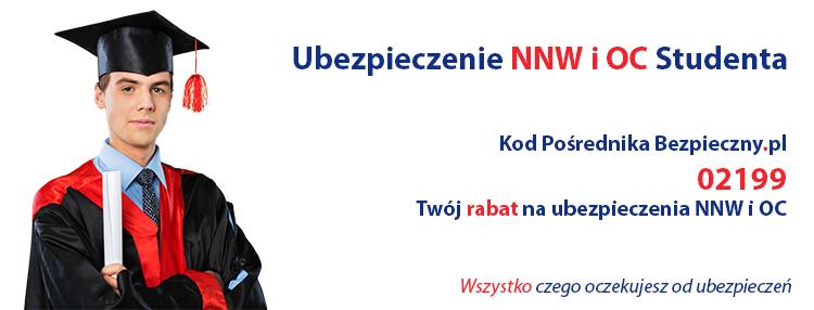 Pośrednik Bezpieczny.pl - NNW i OC Studenta
